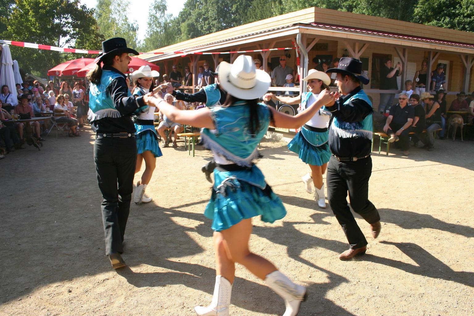 Various Country Western Music Jamboree